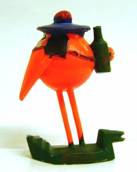 Les Shadoks - Shadok sailor orange figure Jim