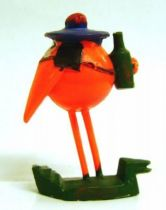 Les Shadoks - Shadok sailor orange figure Jim