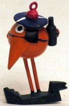 Les Shadoks -Jim Figure - Shadok sailor (tangerine)