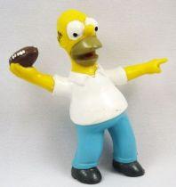Les Simpsons - Figurine PVC - Homer Football - Bully TCFFC 1990