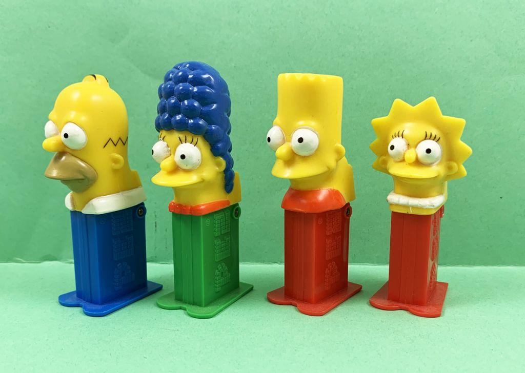Les Simpsons - Mini-Distributeur PEZ - Homer, Marge, Bart, Lisa & Maggie