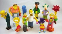 Les Simpsons - Set complet des 10 figurines Quick