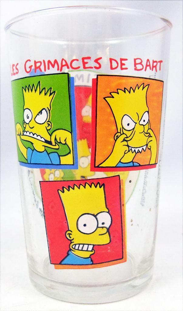 Les Simpsons - Verre à moutarde Amora - Les Grimaces de Bart