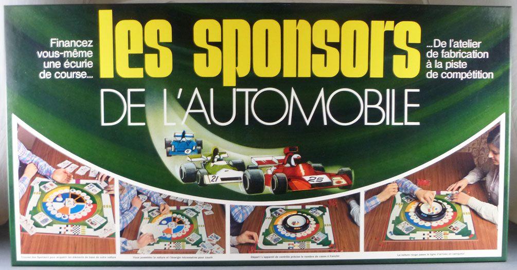 Les Sponsors de l\'Automobile - Board Game - Miro (Réf 651405) 1977