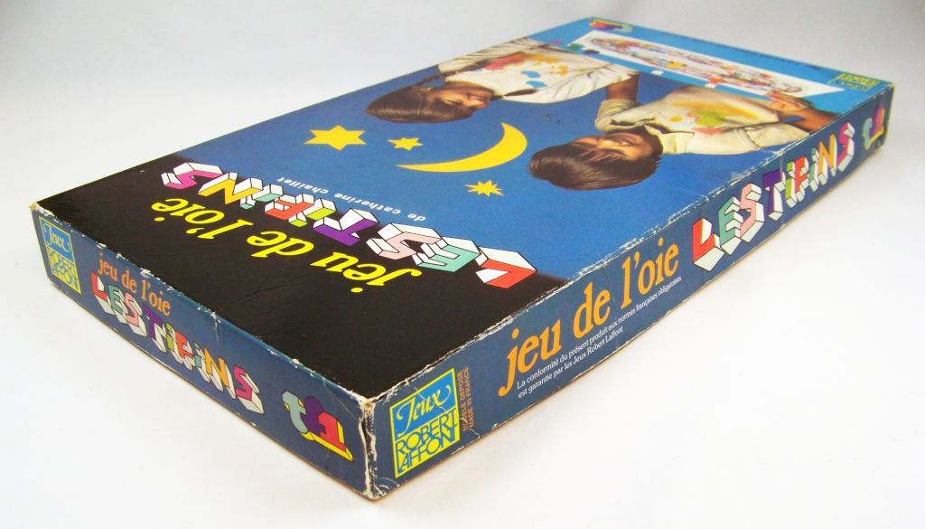 Les Tifins  - Jeux Robert Laffont - Jeu de l\'Oie 03