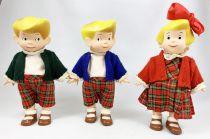 Les Triplés - Set of three dolls - Corolle (loose)