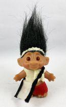 Les Trolls - Figurine Plastique 15cm (Thomas Dam) - Troll cheveux noir
