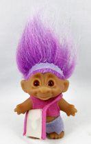 Les Trolls - Figurine Plastique 15cm (Thomas Dam) - Troll cheveux rose