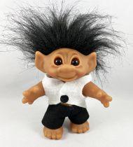 """Les Trolls - Figurine Plastique 20cm (Thomas Dam) 1984 - Troll \""""Tuxedo\"""""""