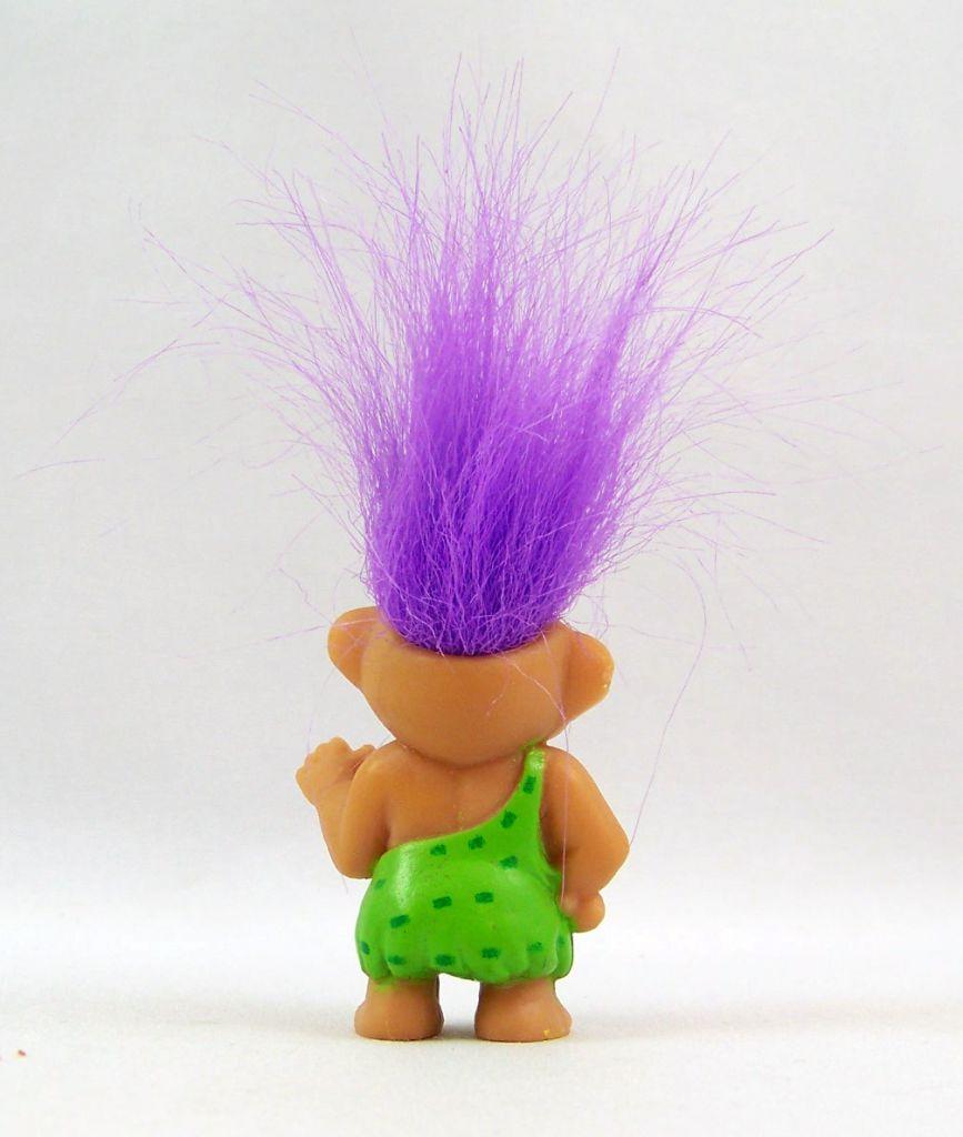 Les Trolls - Figurine PVC Soma 1992 - Troll Cro Magnon