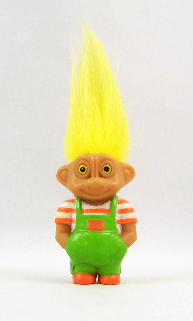 Les Trolls - Figurine PVC Soma 1992 - Troll en Salopette