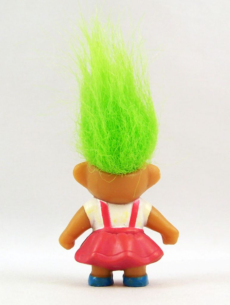 Les Trolls - Figurine PVC Soma 1992 - Troll Fille