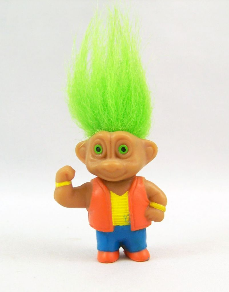 Les Trolls - Figurine PVC Soma 1992 - Troll Sport #1