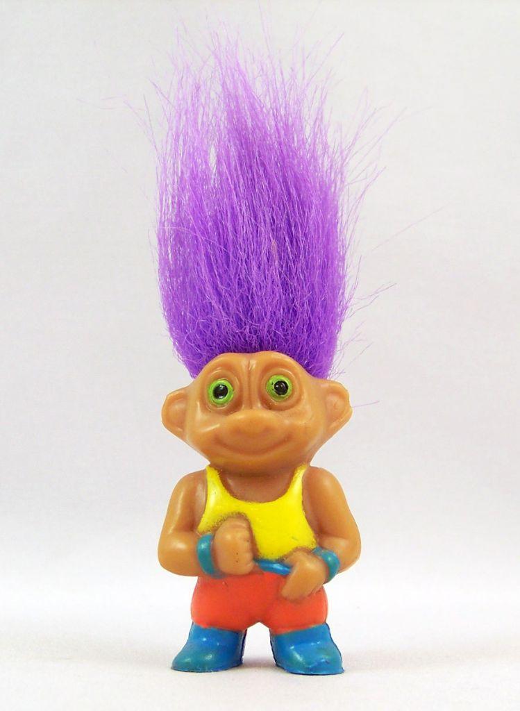 Les Trolls - Figurine PVC Soma 1992 - Troll Sport #3