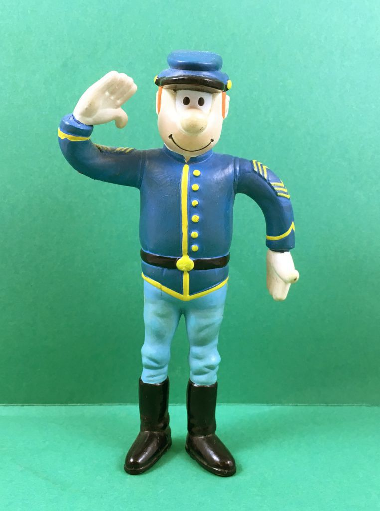 Les Tuniques Bleues - Figurine flexible - Chesterfield