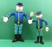 Les Tuniques Bleues - Figurines flexibles - Blutch & Chesterfield