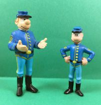Les Tuniques Bleues - Figurines PVC Papo - Blutch & Chesterfield