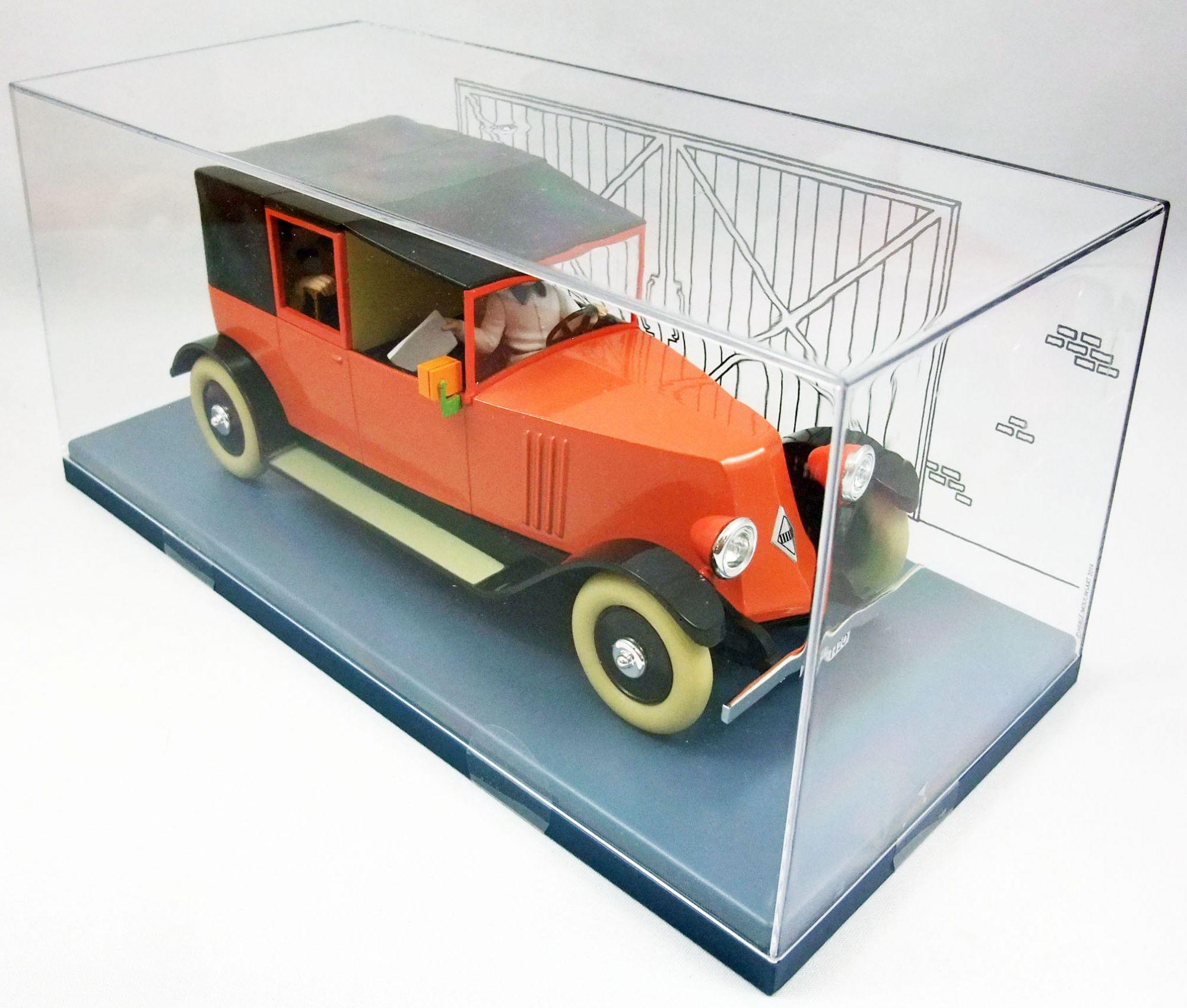 Les Voitures de Tintin (Echelle 1:24) - Hachette - N°25 Le Taxi Rouge (Le Crabe aux Pinces d\'Or)