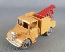 Lesney Matchbox N° 13 Camion Dépanneuse Wreck Truck Ocre & Rouge