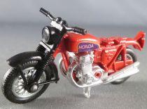 Lesney Matchbox N° 18 Moto Honda Hondarora Rouge