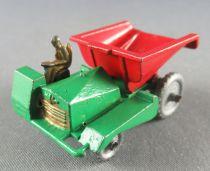 Lesney Matchbox N° 2 Muir Hill Site Dumper Regular Wheels