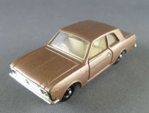 Lesney Matchbox N° 25 Ford Cortina Bronze Metalised
