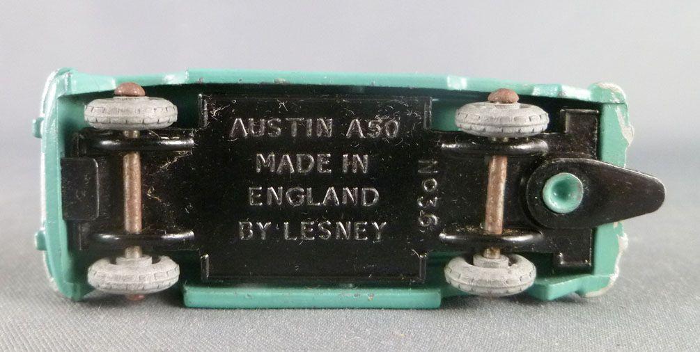 Lesney Matchbox N° 36 Austin A50 Cambridge Bleue