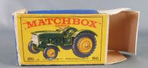 Lesney Matchbox N° 50 John Deer Farm Tractor with Box