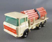 Lesney Matchbox N° 58 Camion Daf 58 Girder Truck Blanc