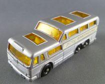 Lesney Matchbox N° 66 Autocar Greyhound Gris Coach Bus