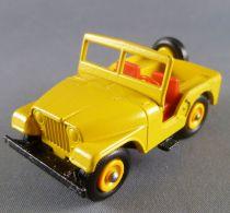 Lesney Matchbox N° 72 Jeep Jaune