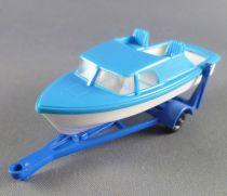 Lesney Matchbox N° 9 Remorque & Bateau Trailer & Speedboat
