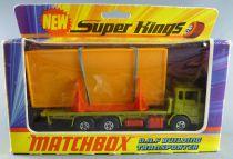 Lesney Matchbox Super King K-13 Camion Daf Transport Maison en Kit Neuf Boite