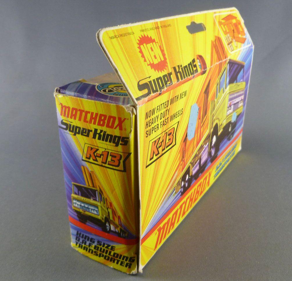 Lesney Matchbox Super King K-13 Daf Building Transporter Mint in Box