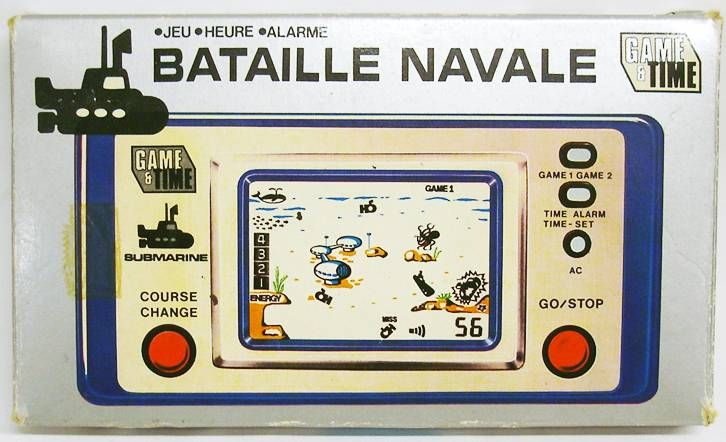 Liebermann Waelchli & Co. - Game & Time - Bataille Navale (Submarin) Loose with Box
