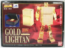 "Lightan Series - Bandai Soul of Chogokin GX-32 - Gold Lightan ""18K Plating\"""