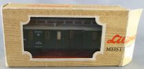 Liliput 272 10 Ho Öbb Postal Coach 2 Axles 84304 Green Livery in Box