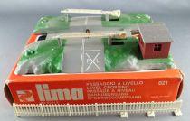 Lima 021 Ho Sncf Passage à Niveau Manuel 1 Voie Boite marron