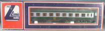 Lima 309191 Ho Sncf Voiture Uic B9C9x 2° Classe 518759-70705-3 Neuve Boite