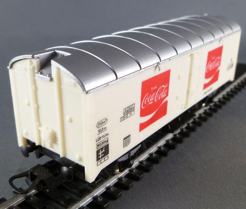 Lima 3113 Ho Db Wagon Frigorifique 2 Essieux Coca Cola Proche NeufBoite