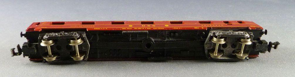 Lima 320332 N Scale Dsg Sleeping Coach Type Wlab 4üm N° 33235 Red Livery