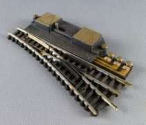 Lima 531 N Scale Electric Point to Right Steel Tracks 98 mm
