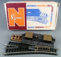Lima 532E N Scale Electric Point to Left Steel Tracks 98 mm Boxed