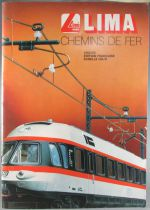 Lima 630186 Ho & N 1982/83 French Catalogue 68 Colors Pages