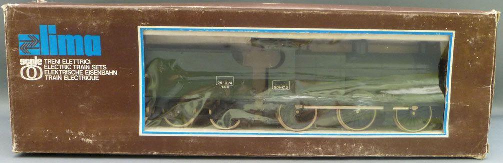 Lima 6535 0 Gauge Sncf Steam Loco Type 060 030 501-C3 & Tender 29-C74 Mint in Box