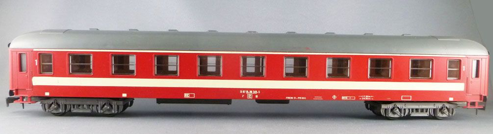 Lima 6603 0 Gauge Sncf 1st Class A9 Coach 518719-90349-5 Red Capitole Livery
