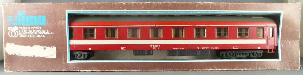 Lima 6603 Ech O Sncf Voiture 1° Classe A9 518719-90349-5 Livrée Rouge Capitole Boite