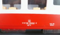 Lima 6672 0 Gauge Sncf Restaurant Coach Grill Express Red & Grey Livery Near Mint in Box