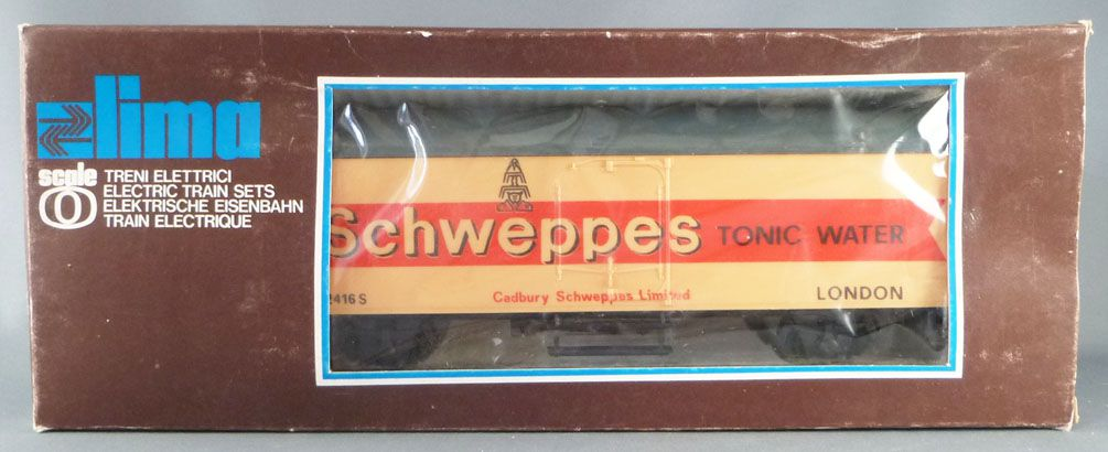 Lima 6703 0 Gauge Br Schweppes Fridge Wagon 2 Axles Mint in Box
