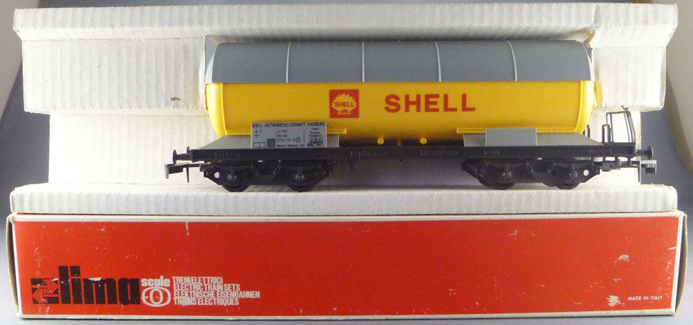 Lima 6765 0 Gauge Db Shell Tank Wagon with Bogies Mint in Box